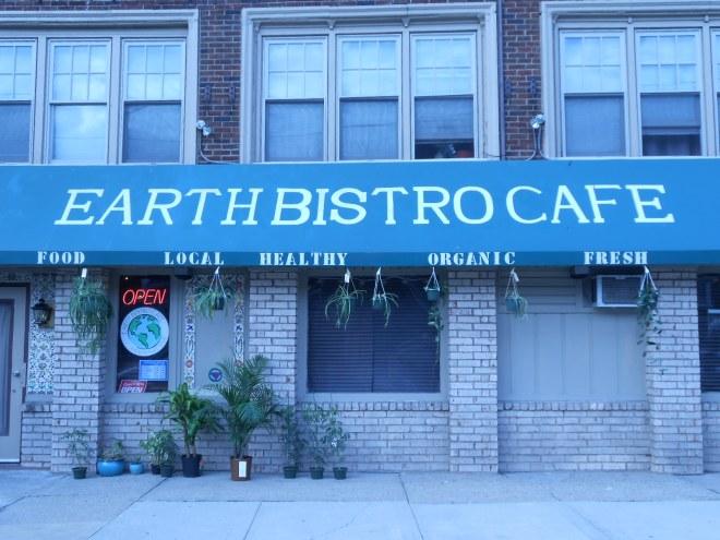 EARTH BISTRO CAFE - has large, separate vegan menu!