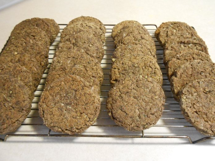 COCONUT LENTIL ANIMAL-FREE BURGERS ON RACK 2