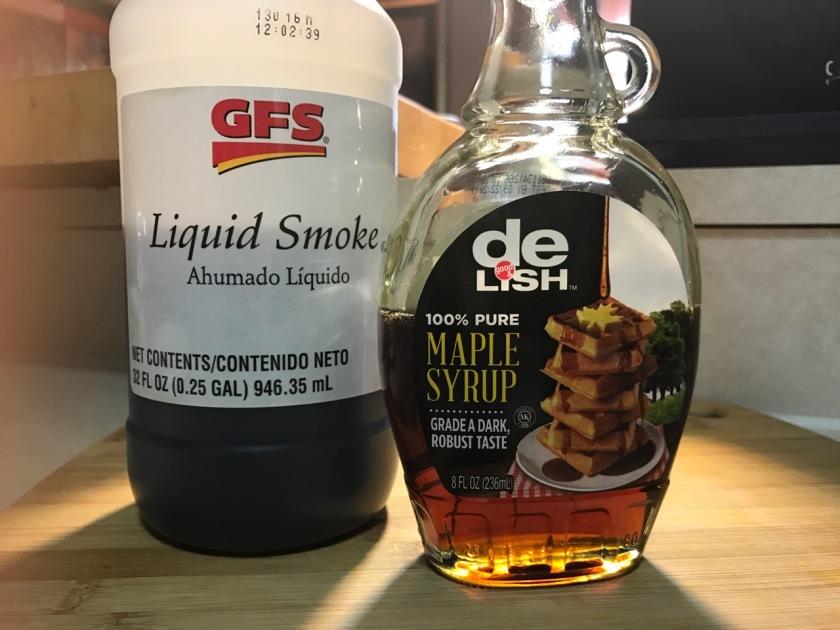GFS LIQUID SMOKE DELISH MAPLE SYRUP