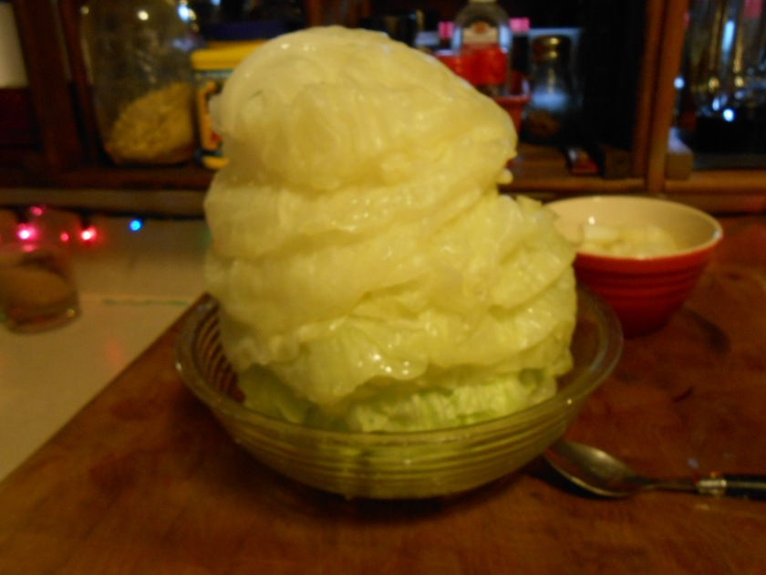 STEAMED CABBAGE LEAVES