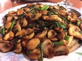 BOURBOB MUSHROOMS OVER STEVE'S PANCAKE CHINA CAFE - Edited