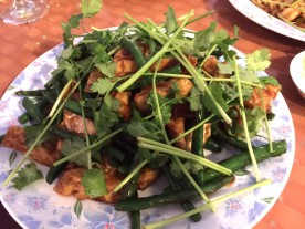 FRIED TOFU WITH GREEN BEANS CHINA CAFE - Edited