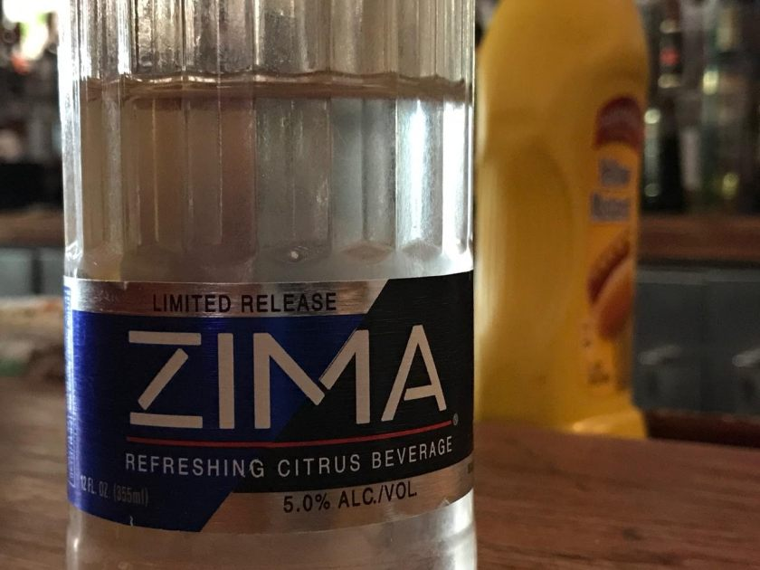 ZIMA LIMITED RELEASE TICK TOCK TAVERN