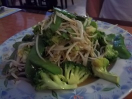 CHINA CAFE BROCCOLI AND BEAN SPROUTS