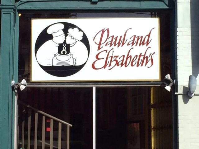 PAUL AND ELIZABETH'S RESTAURANT 1