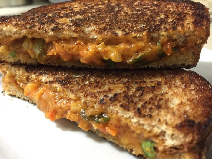 GRILLED ALMOND BUTTER PUBSANDWICH