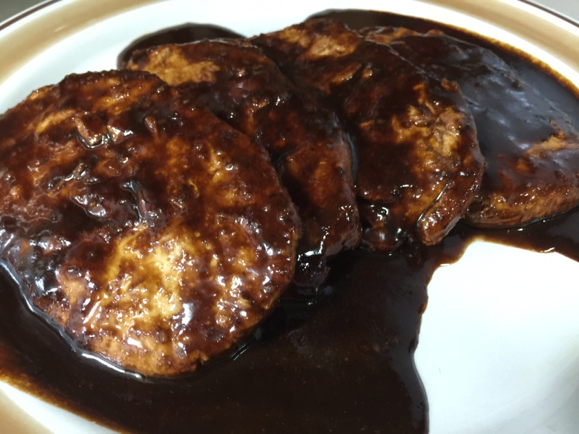 SCALLOPINI WITH BLOOD SAUCE 2