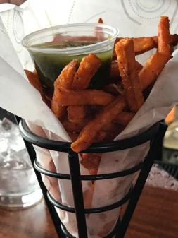 BROTHERS LOUNGE SEET POTATO FRIES WITH CHIMICHURRI 3