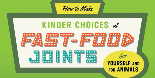 How to Order Vegan at Fast Food and Chain Restaurants |PETA