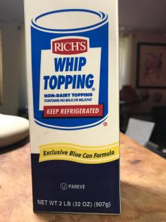 RICH'S WHIP TOPPING NON-DAIRY 1