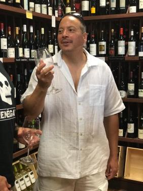 WINE TASTING at our favorite wine shop 10