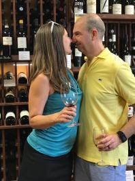 WINE TASTING at our favorite wine shop 13