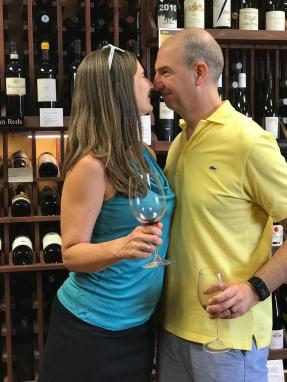 WINE TASTING at our favorite wine shop 13