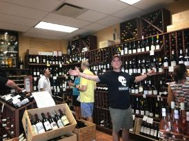 WINE TASTING at our favorite wine shop 2