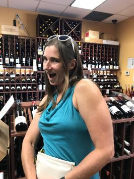 WINE TASTING at our favorite wine shop 23