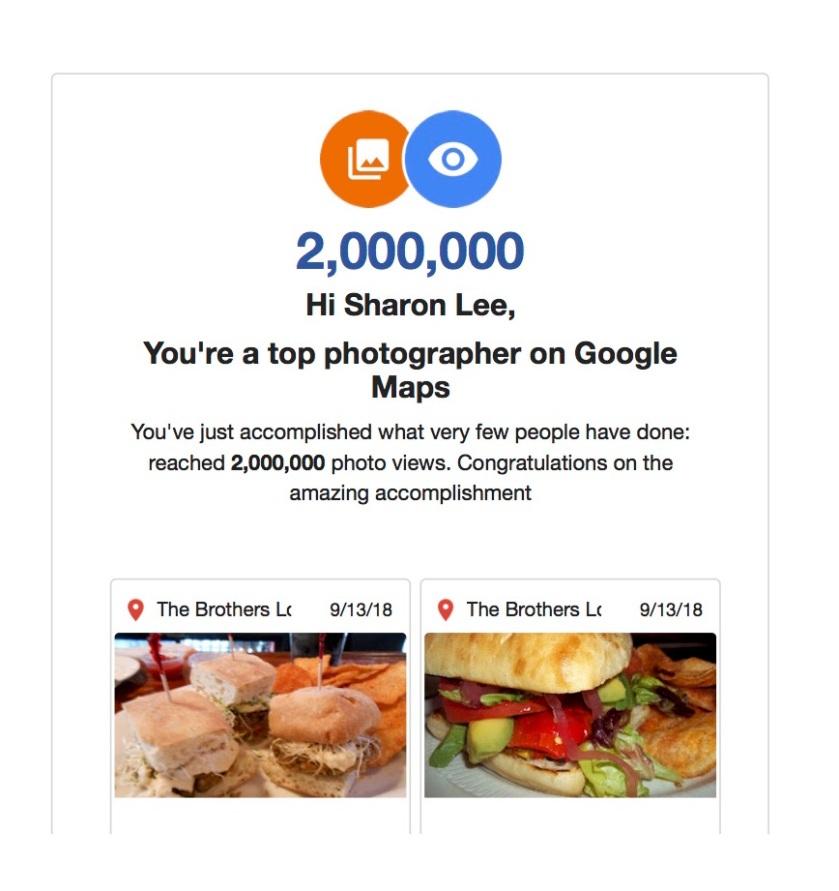 2,000,000 VIEWS GOOGLE MAPS