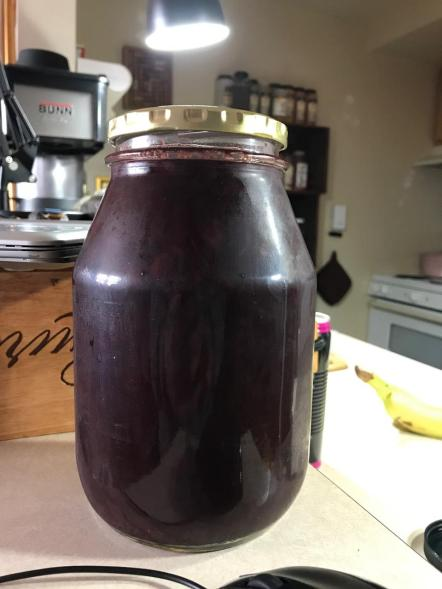 BLUEBERRY BEET PRESERVES 3