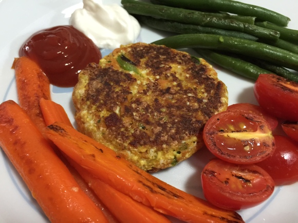 western-cheese-omelet-plate