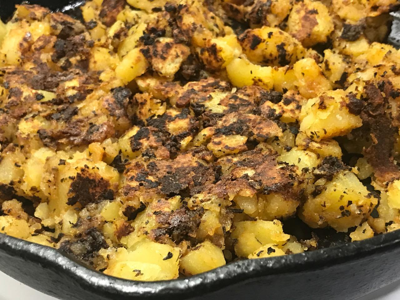 BURNT HOME FRIES – 2 versions