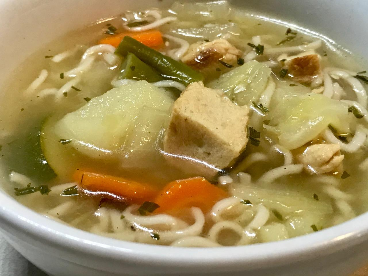 Chicken-Free Chicken Soup