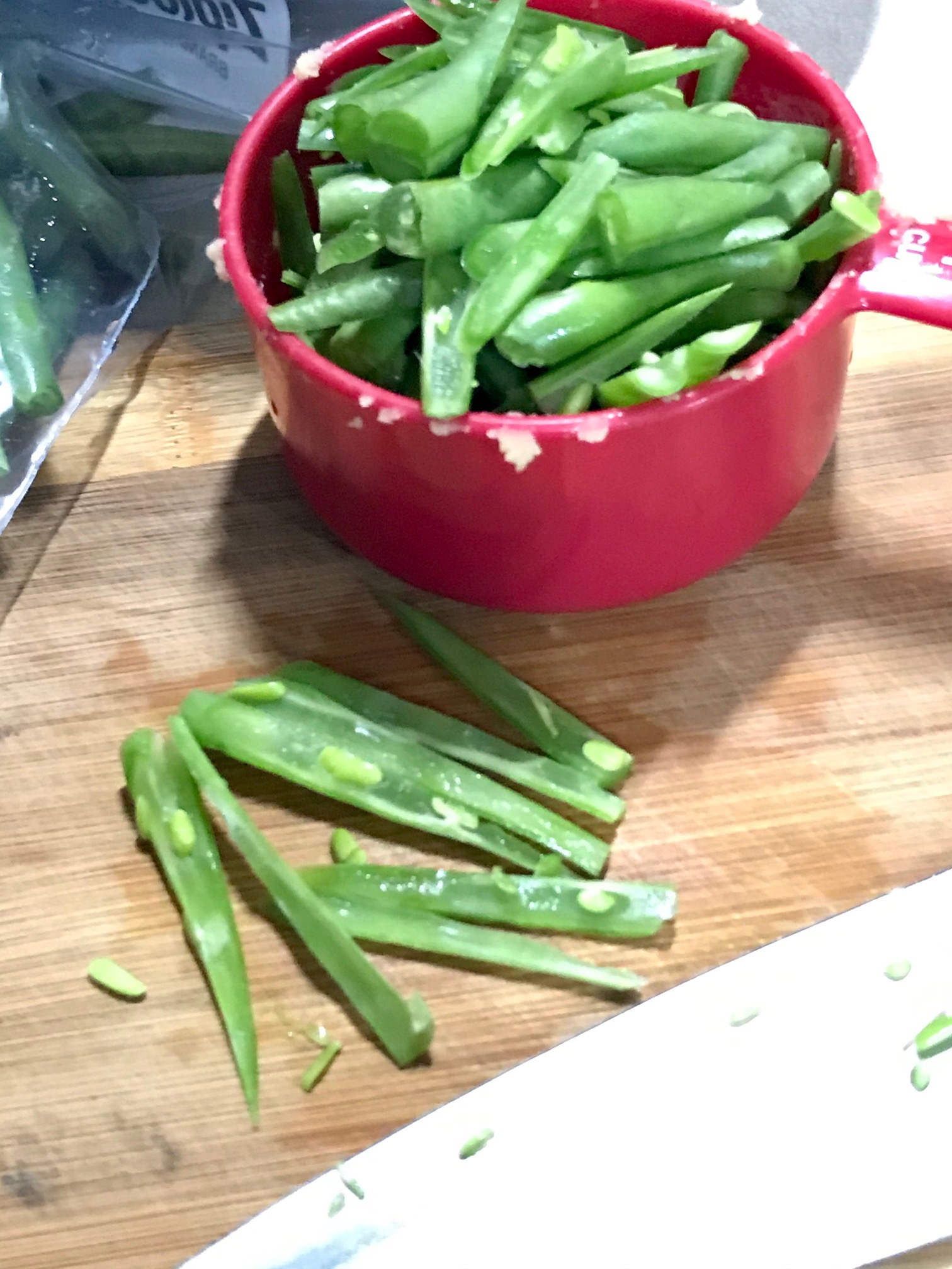 Make Fresh French Green Beans