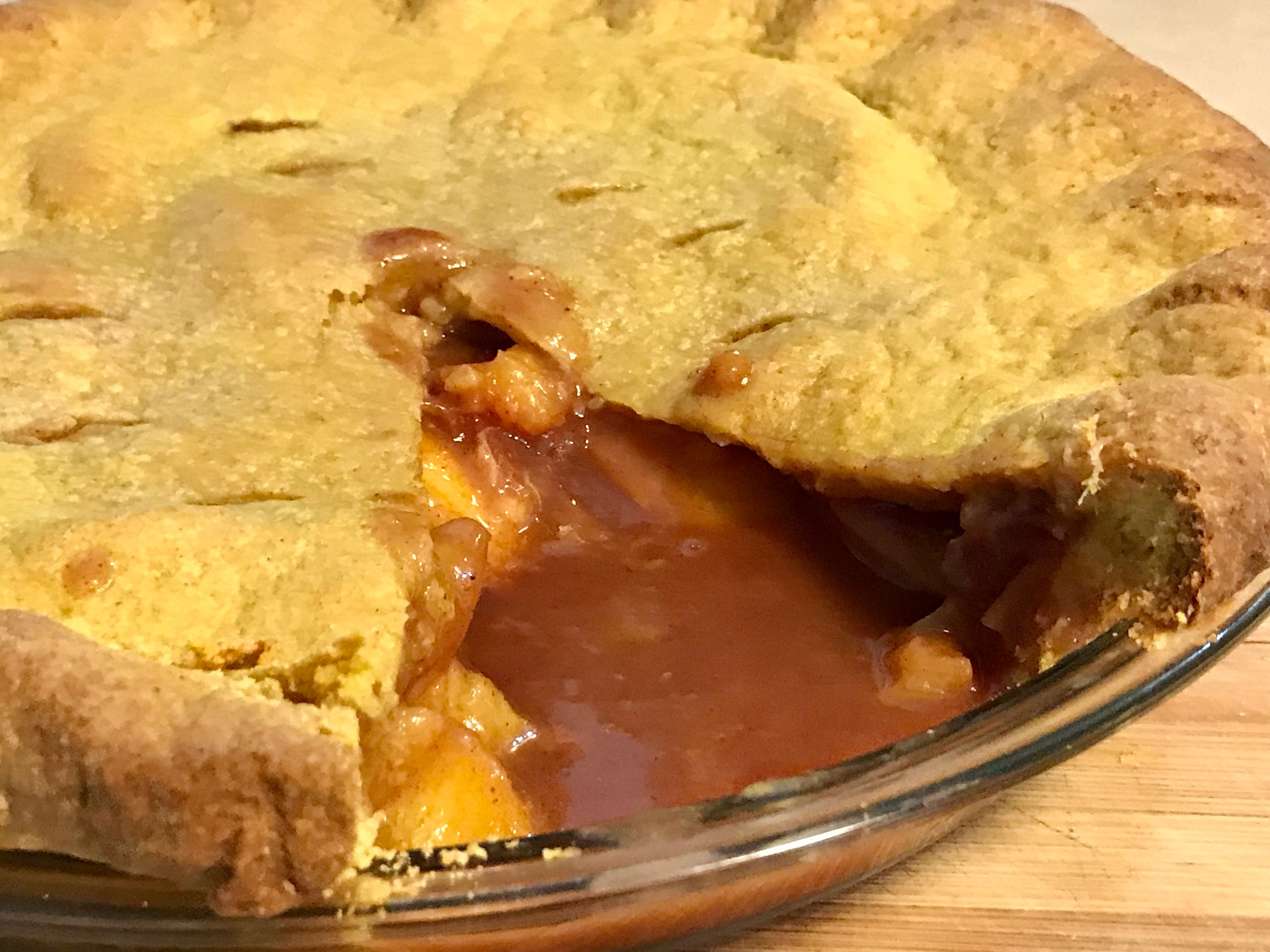 AFC SOFT-CRUSTED FRESH NECTARINE PIE